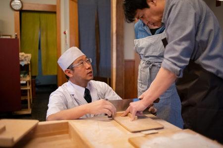 増田屋そば打ち教室を開催しました【2019年2月定例】