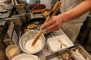 天ぷら粉の工夫